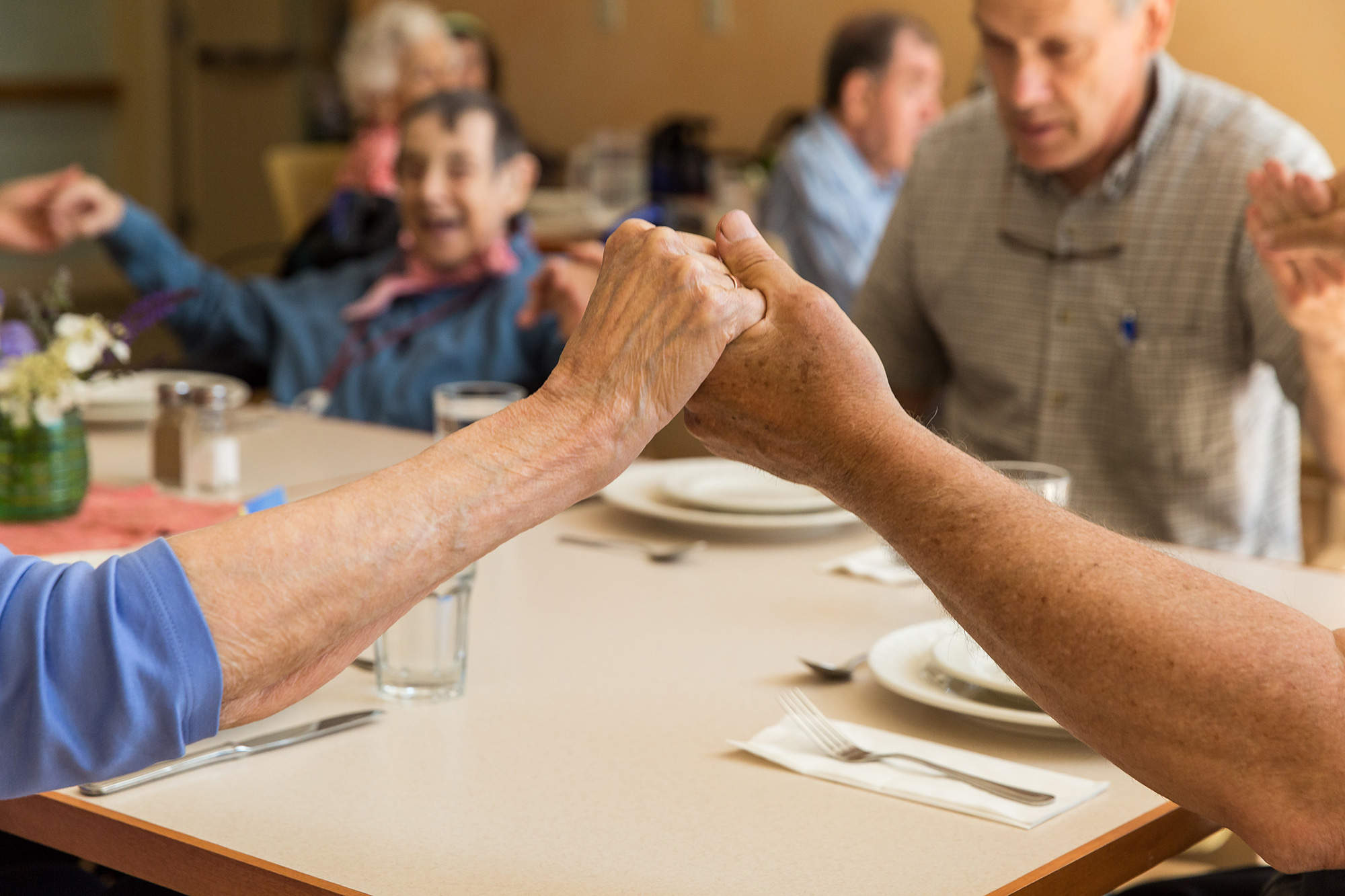 Support holistic aging care