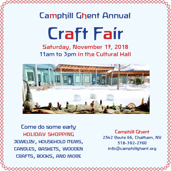 Camphill Ghent | Camphill Ghent Annual Craft Fair